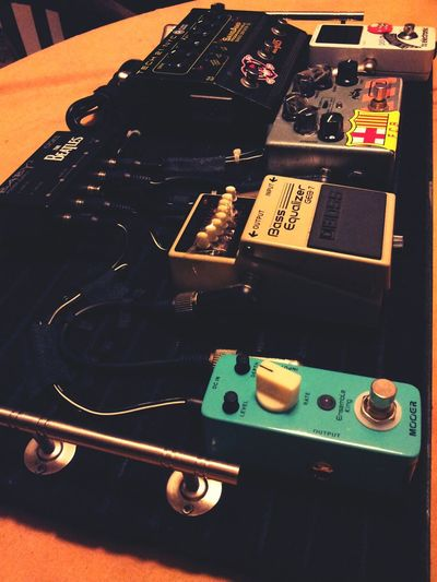 it's all about creativity My Pedalboard Stompbox Bass Guitar Bass Player