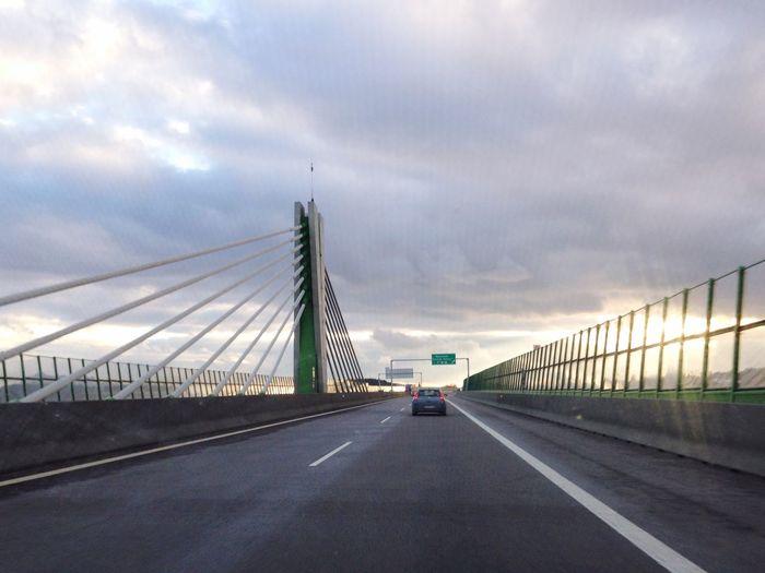 Bridge Roadtrip Road Sunset Sky Clouds And Sky Highway