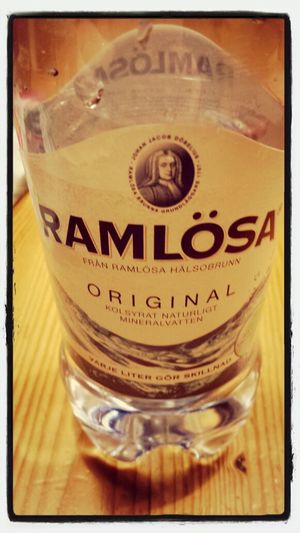 job night.... with Ramlösa.
