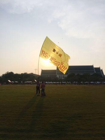 King Thailand Outdoors Bangkok Longlivetheking Sanamluang Sanam Luang Bangkok