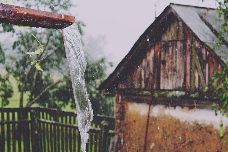 Дождь ливень гром дождь гроза Rain