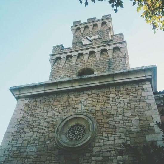 Belltower Castle Lookingup