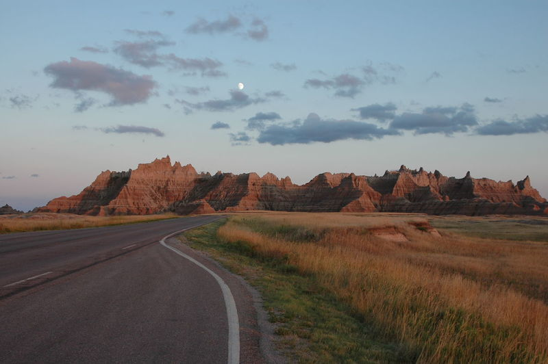 ©Amy Boyle Photography Badlands Badlands National Park Badlands National Park, South Dakota Beauty In Nature Cloud - Sky Day Landscape National Nationalpark Nature No People Outdoors Road Road Less Travelled Roads Roadside America Roadtrip Scenics Sky The Way Forward Tree