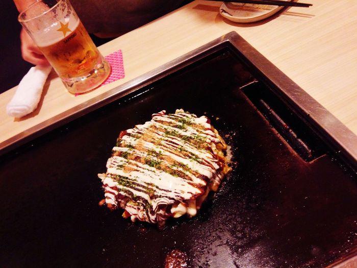 Dinner Food Porn Yummy Okonomiyaki