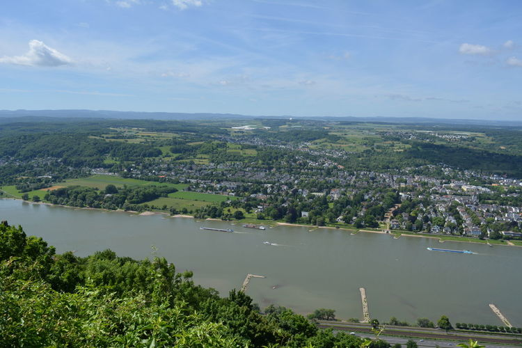 River Rhine Landscape River Rhine Country Beauty In Nature Cityscape Day Landscape Nature No People River Sky Water