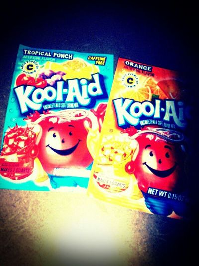 My 2 favourite kinds Kool Aid