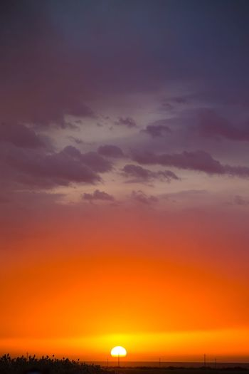 海上日出 Sunset