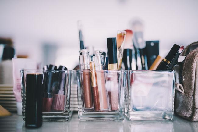Home Lipstick Makeup Brush Cosmetics Detail Female