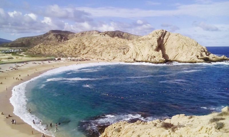 Relaxing Beach View Mexico Los Cabos Beautiful First Eyeem Photo