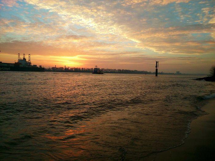 Sunset Hamburg Harbour Wunderontour