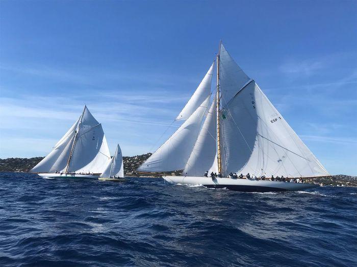 Voiles de Saint Tropez Saint Tropez Sailboat Nautical Vessel Transportation Water Mode Of Transportation Sailing Sea
