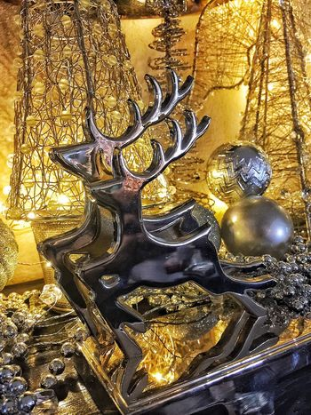 Gold Colored Art And Craft Ornate Gold Indoors  Statue No People Luxury Close-up Precious Gem Sculpture Day Christmas Lights Holiday - Event Christmas Tree Christmas Ornament Christmas Decoration Christmas Visual Creativity The Still Life Photographer - 2018 EyeEm Awards