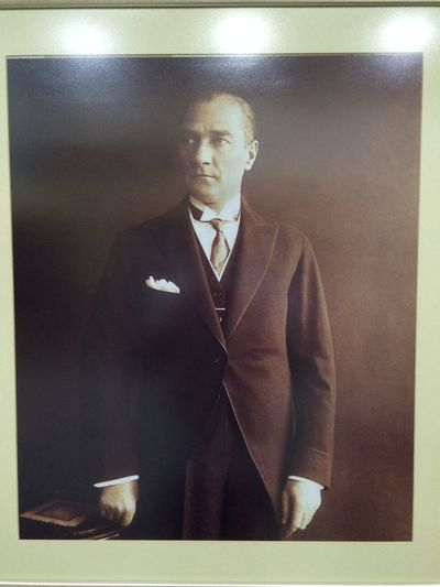 That the father of the Turkish Nation MUSTAFA KEMAL ATATÜRK