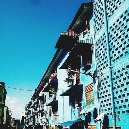 Street Photography Blue Sky
