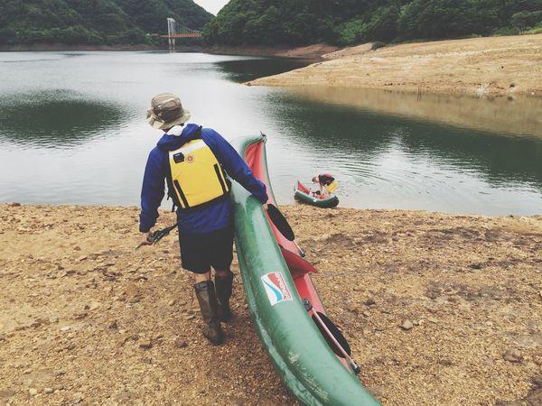 2016.7.17.sun.九頭龍キャンプ。雨上がりようやく。 キャンプ Camp Kayak Grabner PFD ロータスデザイン Patagonia Lotusdesign Myhusband