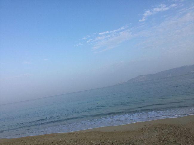 静寂。。。 @morning @sea @beach @okinawa @Japan