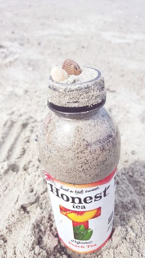 Honest Tea Beach Sand Seashells