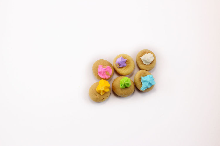 Iced gem biscuits Food And Drink Iced Gem Iced Gem Biscuits Iced Gems Studio Shot Sweet Sweet Food Variation White Background