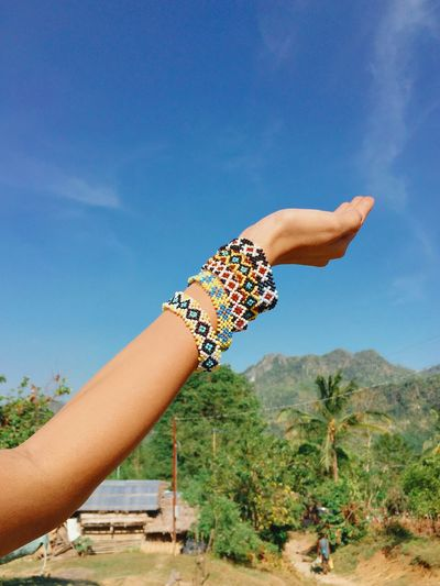 Featuring the handmade bea bracelets of the native mangyans of occidental mindoro, philippines.