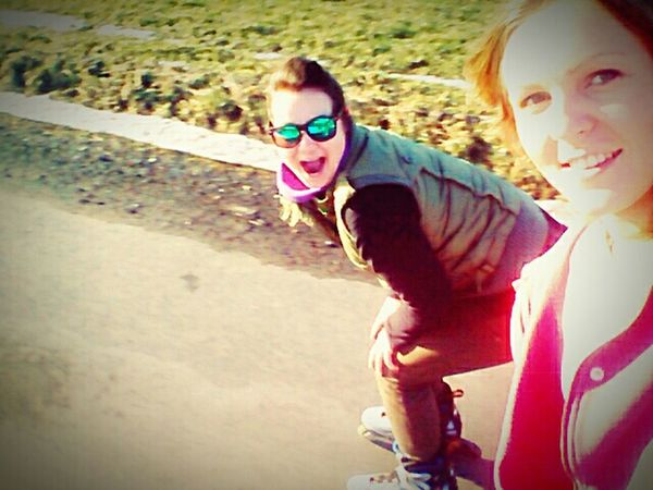 Rollerblade Winter Sport Keep Smiling People My Travel  Where