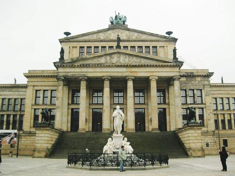 TBT  Berlin Konzerthaus Berlin Architecture Column Sculpture Architectural Column Façade Pediment EyeEmNewHere The Architect - 2017 EyeEm Awards