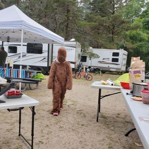 Camping Campinglife Sasquatch The Mobile Photographer - 2019 EyeEm Awards Full Length Rear View Tree Sky Sand Prepared Food FootPrint