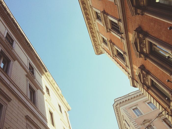 Rom in Seitenlage Roma Rome Rom Street Streetphotography Building Architecture Urban Urban Geometry Italy