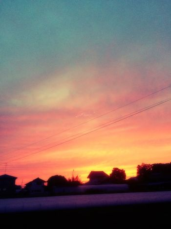 0523 Japan Love New Pink Blue Sunset Beautiful Sky Collection Sky May
