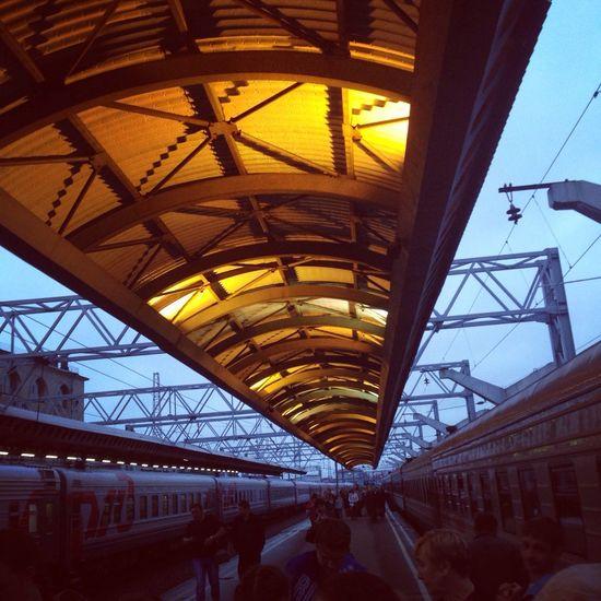 Saint Petersburg Train Summer Enjoying Life