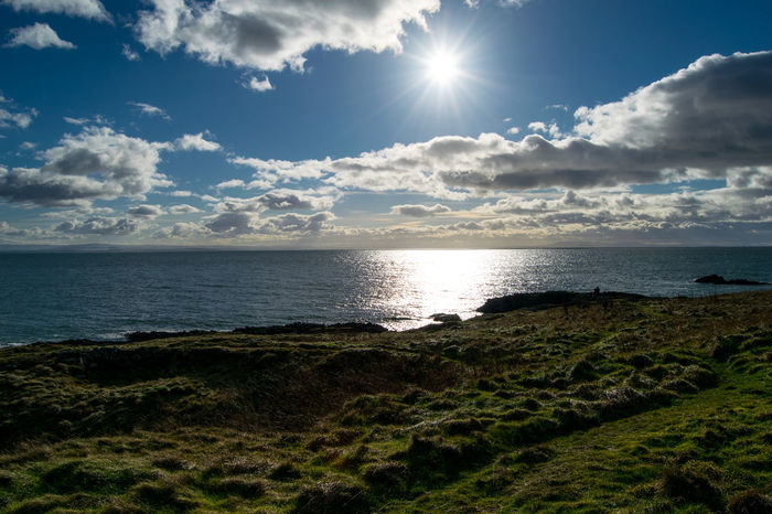 ELIE Fife Coast Horizon Over Water Sunny☀ Beautiful Sky ⛅ Scotland The Week On Eyem