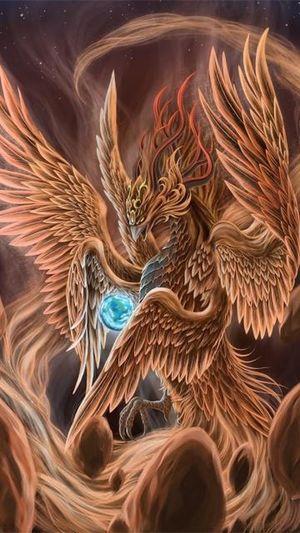 Fantasy Ave Fenix Bird Fénix