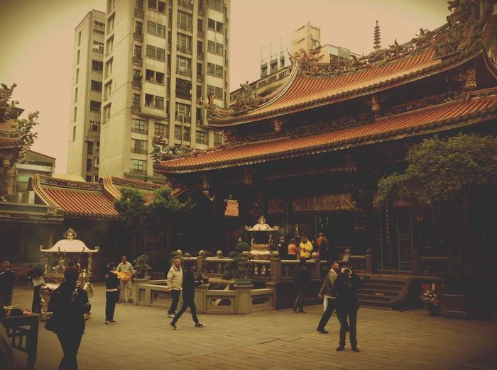 The Tourist Longshan Temple Seeing And Praying Tourists And Locals Taipei Taiwan Original Experiences i pray, you pray.