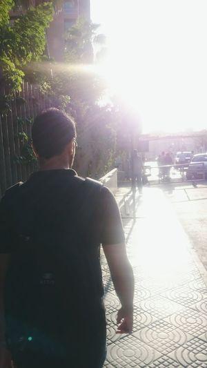 Walking sun Sun Hot Reflection Enjoying Life Summer Summertime Summer2015 People Urban Fresh