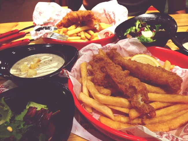 A really awesome meal with a really awesome lover