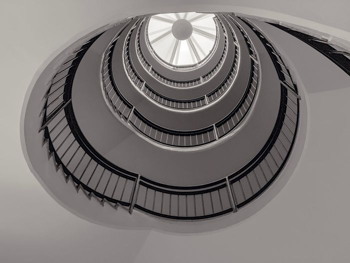 🇸🇪🌀📲 Eyeemphotography Staircase EyeEm Best Edits Lookingup Stairs_collection Architecture_collection Architecturelovers Architectureporn EyeEmBestPics Stairway Arch IPhoneography EyeEm Best Shots Architectural Design White Architecturephotography Architectural Detail The Week on EyeEm Editor's Picks Architecture Low Angle View Built Structure Staircase Steps And Staircases Geometric Shape Indoors  Pattern Circle Spiral Staircase Railing Spiral