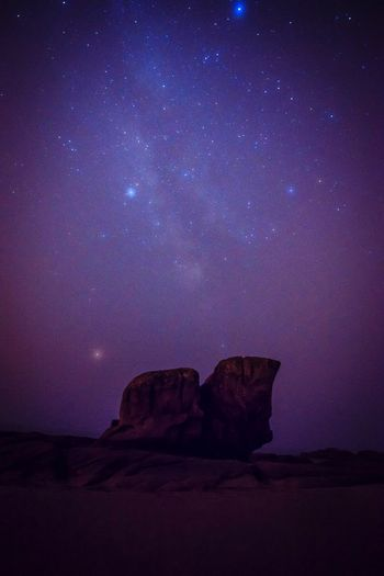 Milky way - the clouds were coming Milky Way Star - Space Sky Night Space Scenics - Nature Galaxy Beauty In Nature Astronomy Rock Formation Rock Nature No People Star Field Star Rock - Object Idyllic Tranquility Tranquil Scene