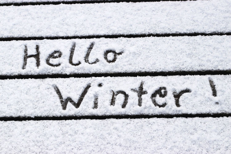 Hello Winter!,