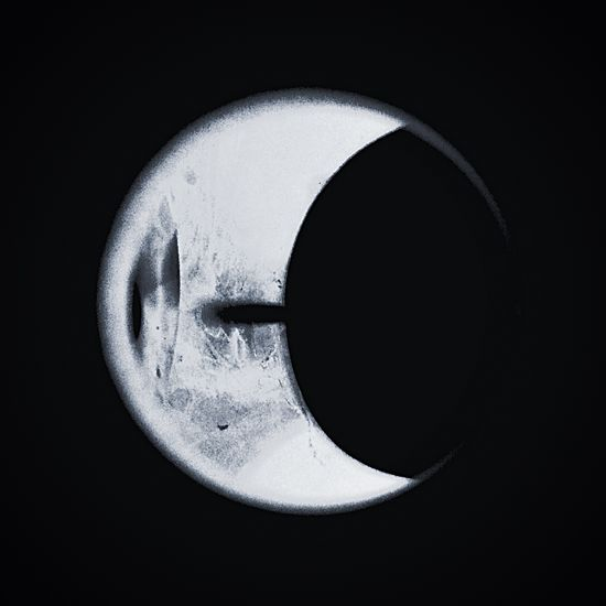 Moon Burnt Moonlight Candlelight Circular No People Close-up Outdoors Night Cold Sad Melancholy Bleak Firelight Glow Textured  Welcome To Black Nature Sky Wax Melt Device Circle Crescent Crescent Moon Things Are Not What They Appear To Be
