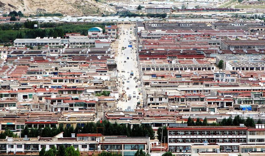 Building Exterior City Architecture Travel Destinations Aerial View Outdoors Built Structure Day Cityscape Urban Skyline No People EyeEmNewHere Fromabove Bigmountains Himalayas Tibet Tibet Life Lhasa Lhasa, Tibet Flying High