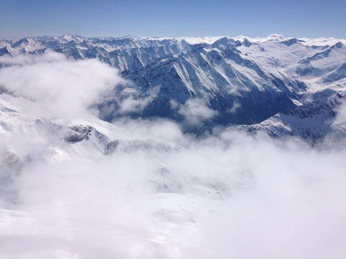Mountaintops in