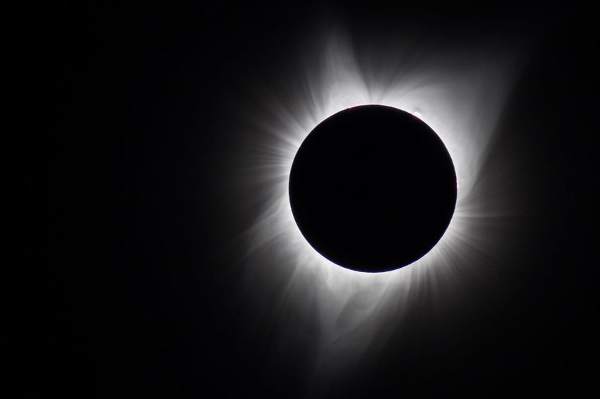 Total Eclipse Salem, Oregon Oregon Eclipse 2017 Low Angle View Moon Astronomy No People Indoors  Solar Eclipse Beauty In Nature Nature Close-up Day Robert DuVernet Photography