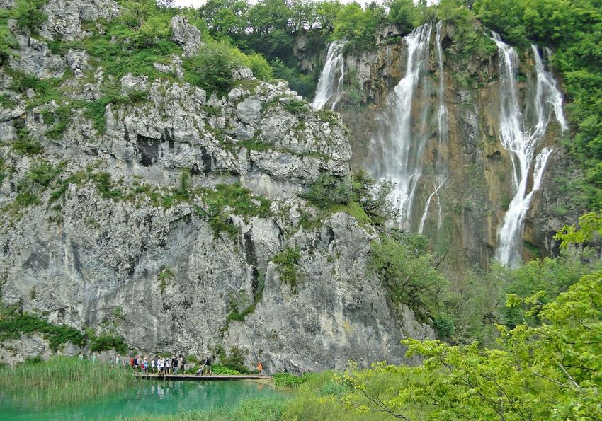 Nature Plitvice Plitvice National Park Plitvicelakes Croatia ♡ Croatia Traveling Travel Photography Water Falls