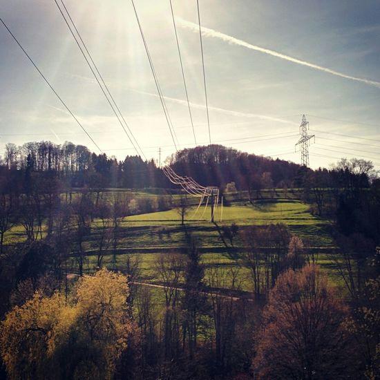 Landscape Sunlight Spring Switzerland