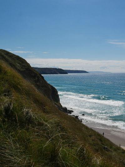 Hidden Gems  Perranporth Perranporth Beach Perran Beach Perranporth Beach,Cornwall Perran Sands Cliff Cliff Edge Cliff Side Seascape Seaside Beach Cornwall Sunny Day
