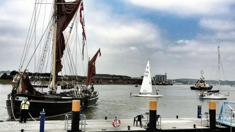 Taking Photos Riverside Boats Festival