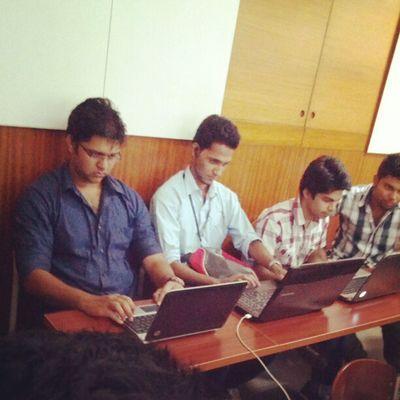 Damodars processing power :p the laptops i mean :p Irix2012 Dmodar Laptops Video
