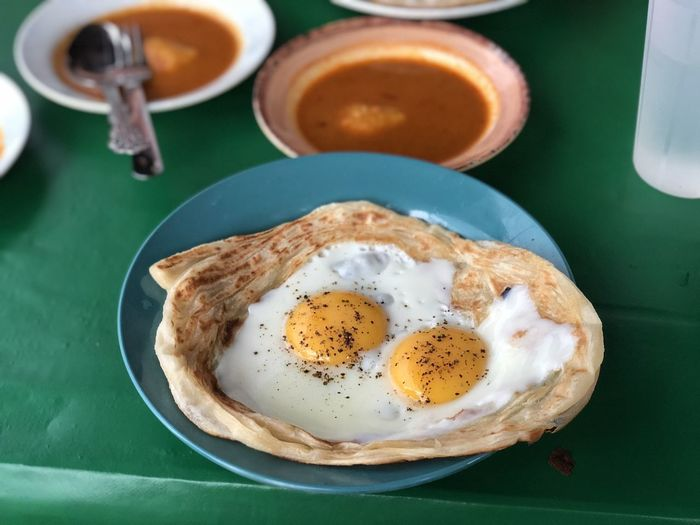 Breakfast, roti canai, malaysia, signature, homemade.