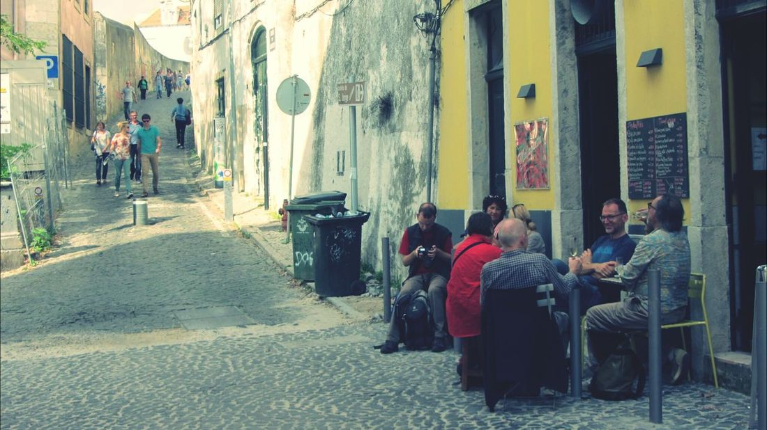 In the old streets of Lisbon... Eyeem Adventure Global EyeEm Adventure - Lisbon The Global EyeEm Adventure - Lisbon The Global EyeEm Adventure Peoplephotography