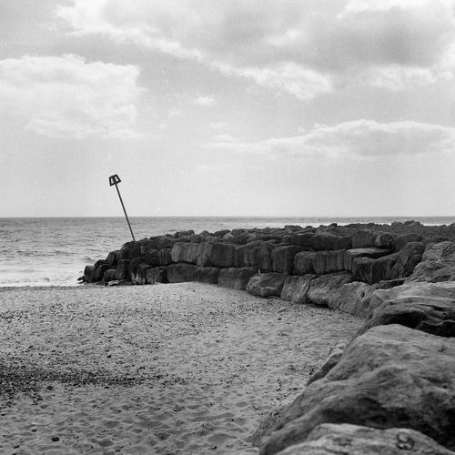 Yashica Mat 124 Yashica Film Photography Beach Hengistbury Head