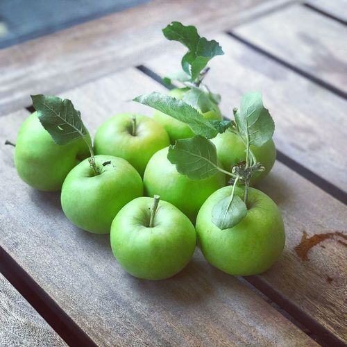 Granny smith apple Granny Smith Apple Apple - Fruit Apple - Fruit Food Food And Drink Healthy Eating Freshness Fruit Green Color Table Wellbeing Leaf Plant Stem Wood - Material Still Life
